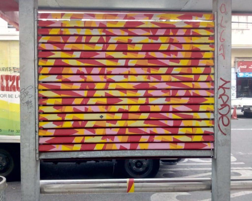 texto alternativo serigrafia papel serigrafiado arte colectivo arte colaborativo anarkia valparaiso